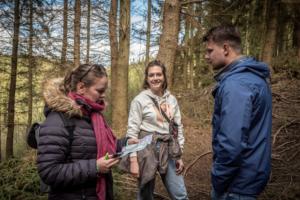 Reboost yourself retreat - wandeling door het bos
